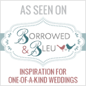 Borrowed & Bleu: Inspiration for One-of-a-Kind Weddings