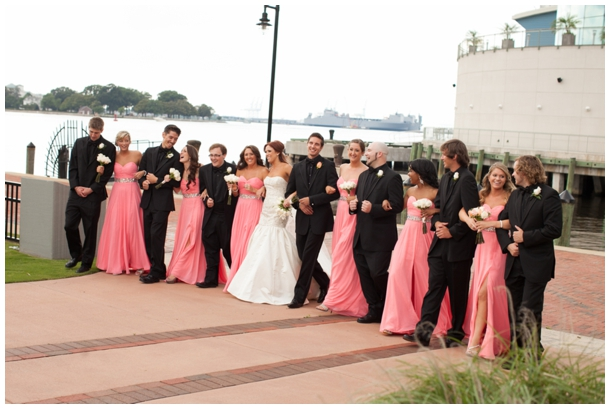 bridal party pics